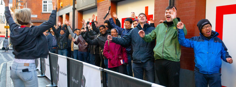 Fans travel miles for the OnePlus 6T UK pop-up event