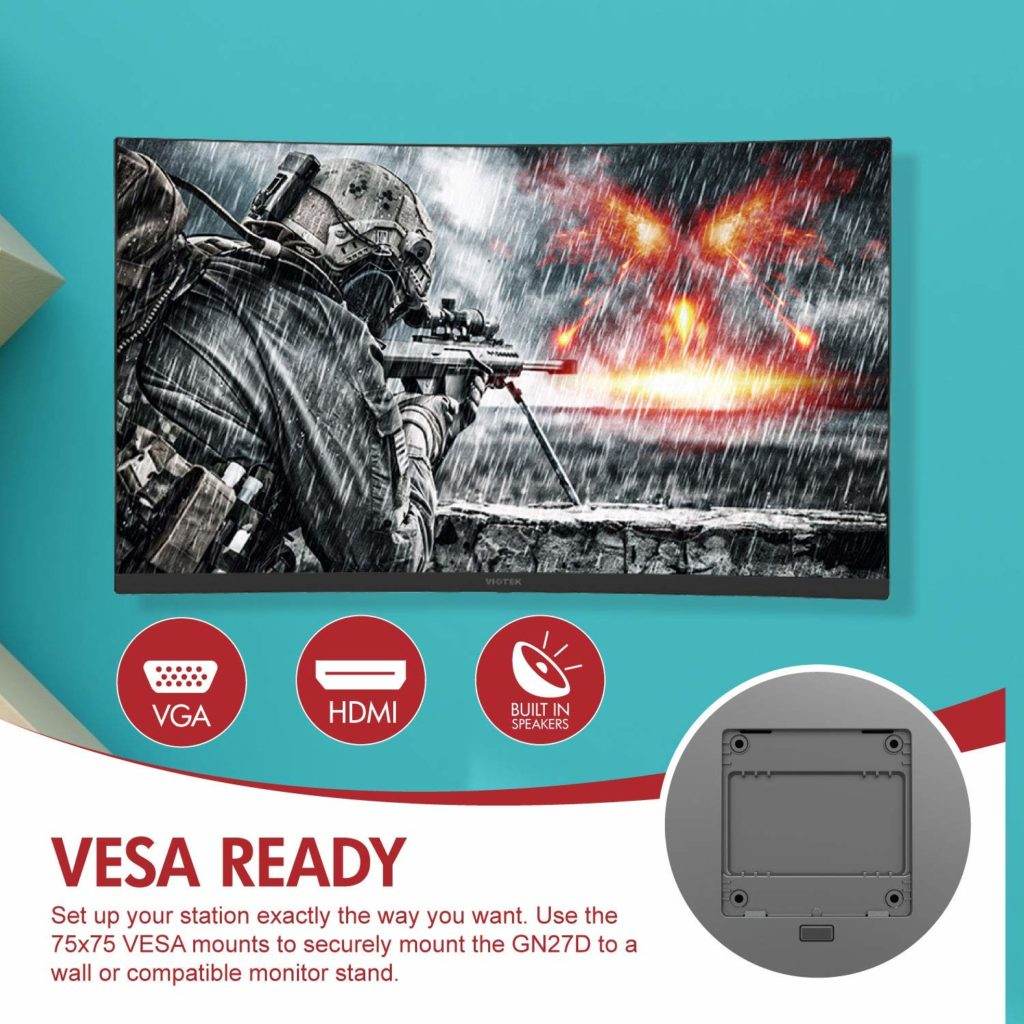 Viotek GN27D 1440p 144hz Curved Budget Gaming Monitor Review 3