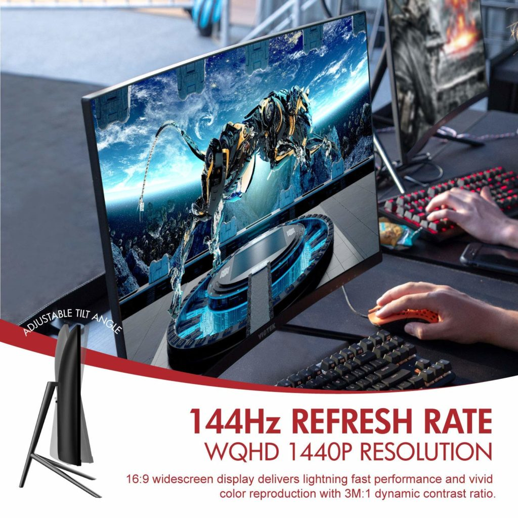 Viotek GN27D 1440p 144hz Curved Budget Gaming Monitor Review 2