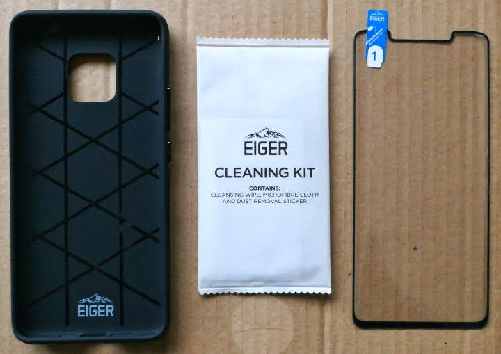 Mate 20 Pro Eiger Protection - Contents