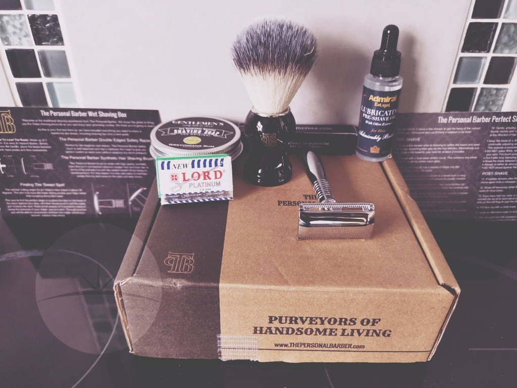 unboxed In this review we're going to take a look at a subscription service from a company called The Personal Barber.