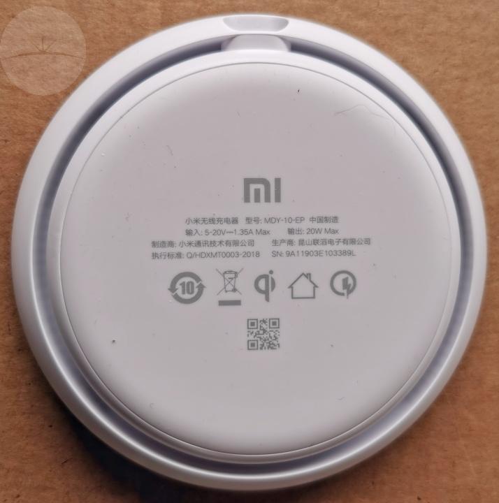 Mi Wireless Charger - Bottom