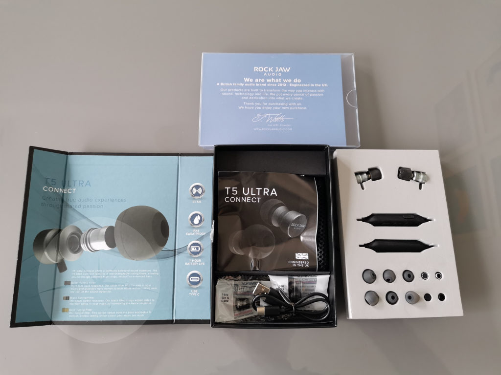 unboxing Rock Jaw T5 Ultra Connect - Review