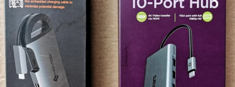Omars and Novoo USB-C Hub Boxes
