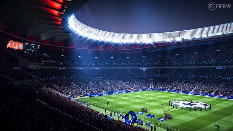 Play FIFA 19 Mobile on Android stadium