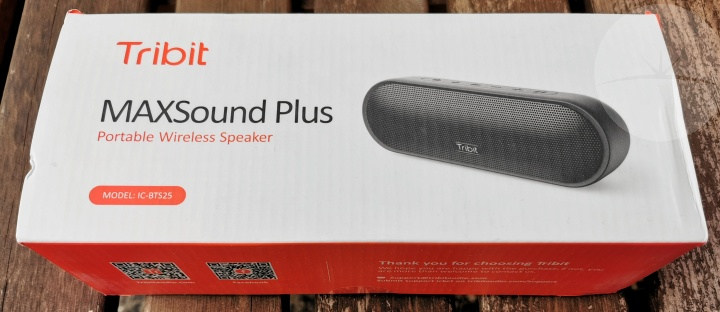 Tribit MAXSound Plus - Box