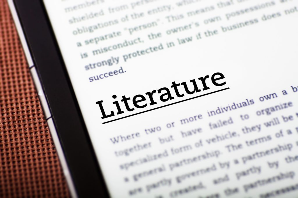 How to Write a Literature Review for a Technical Report main