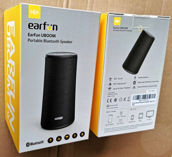 EarFun UBOOM - Boxes