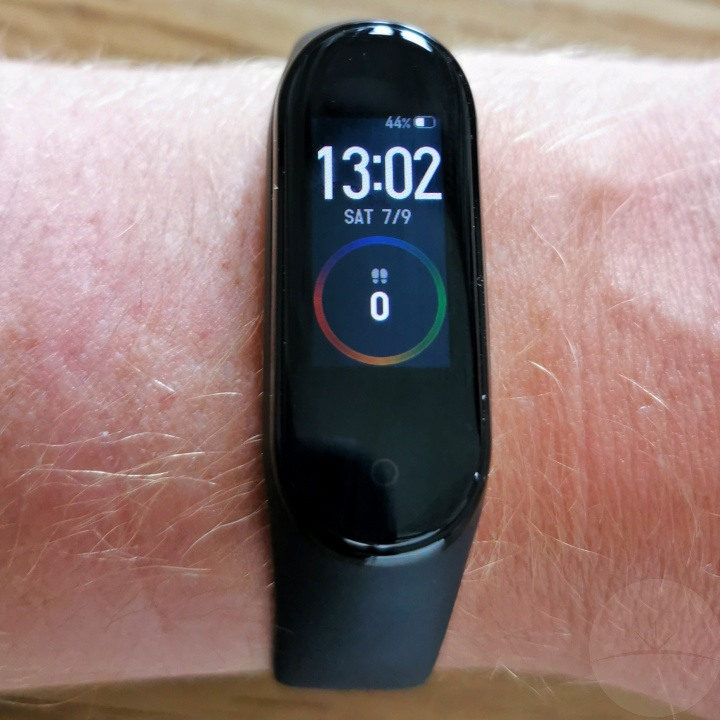 Xiaomi Mi Band 4 - On Arm