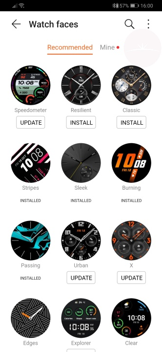 Huawei Watch GT 2 - Watch Faces