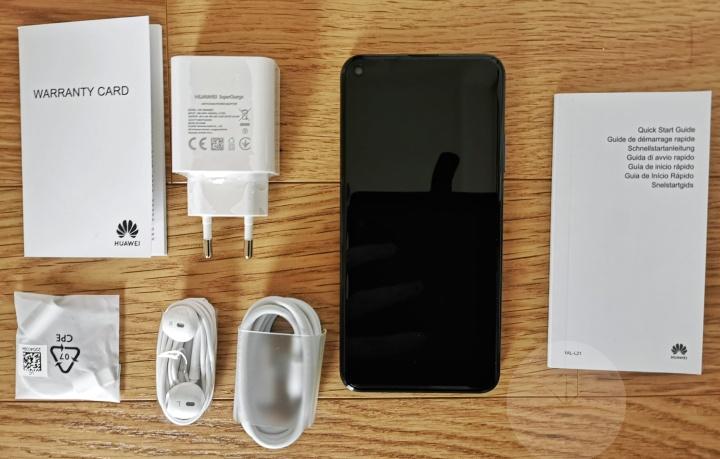 Huawei nova 5T - Contents
