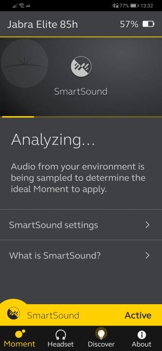 Jabra Elite 85h - App SmartSound