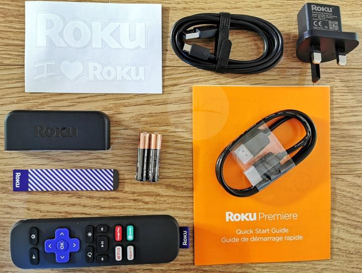 Roku Premiere - Contents