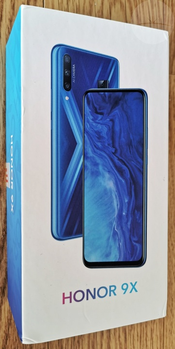 Honor 9X - Box