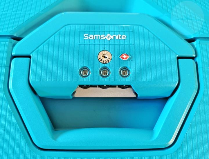 Samsonite Magnum Spinner - Lock