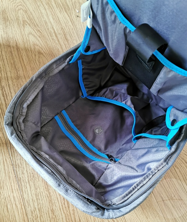 Targus CityLite Security Backpack - Inside