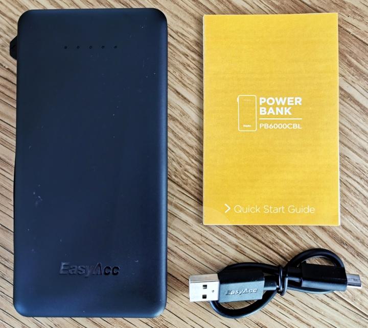 EasyAcc PB6000CBL - Contents