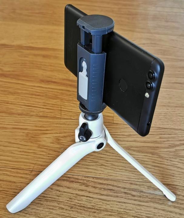 Vanguard Vesta TT1 Tabletop Tripod - Smartphone
