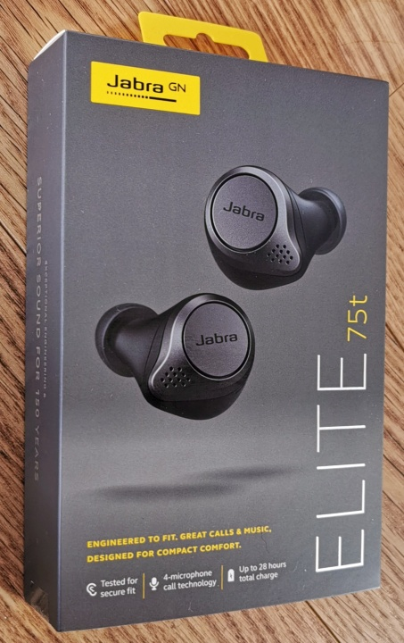 Jabra Elite 75t - Box
