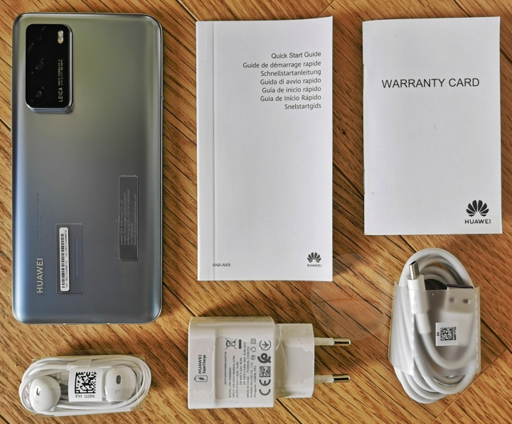 Huawei P40 - Contents