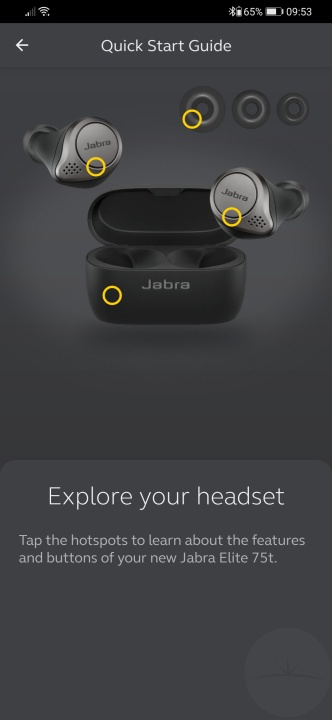 Jabra Elite 75t - Sound+ Quick Start