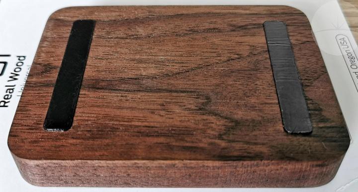 Toast Solid Walnut Universal Tablet Stand - Nano Feet