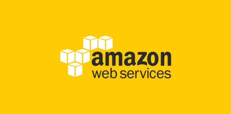 aws logo yellow