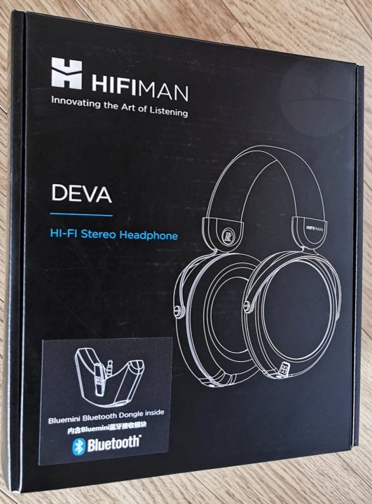 Hifiman DEVA - Box