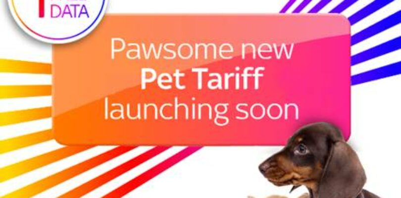 Available from today, the unique 'Pet Tariff' from Sky Mobile is the purr-fect plan for those pet owners who need to claw back on their data